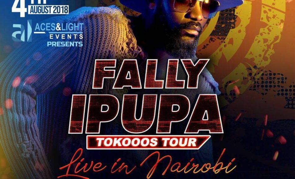 Fally Ipupa TOkooos TOUR; August 4