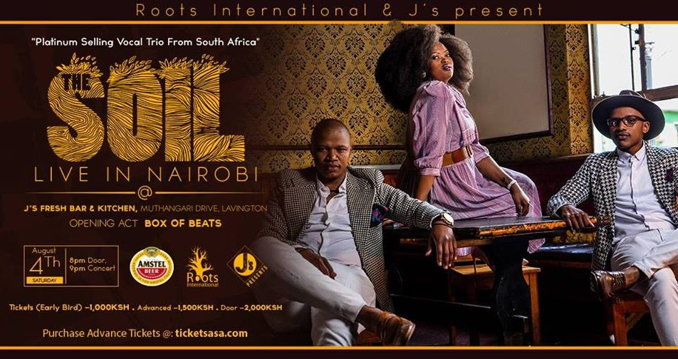 The SOIL Live in Nairobi; August 4