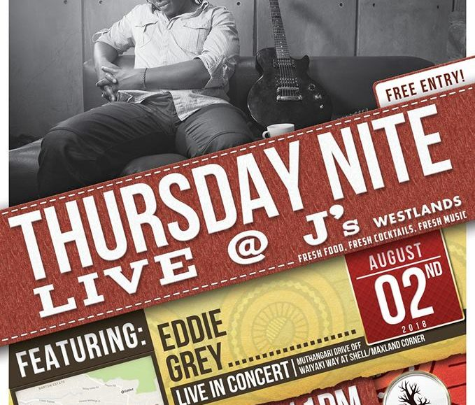 Thursday Nite Live with Eddie Grey; August 2