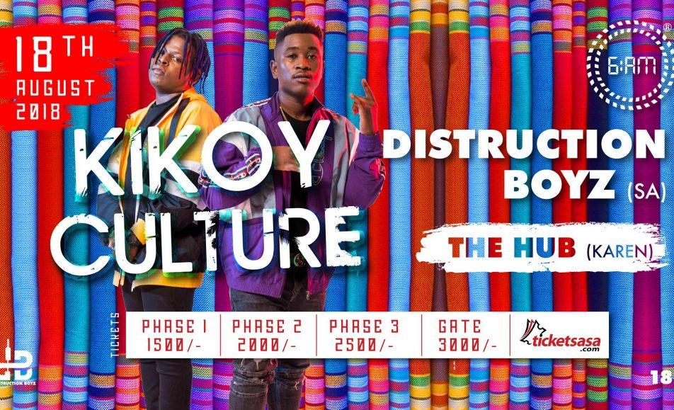 KIKOY Culture 2018 with Distruction Boyz; August 18