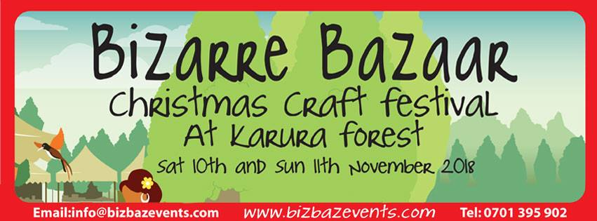 The Bizarre Bazaar Christmas Craft Festival 2018; Nov 10-11