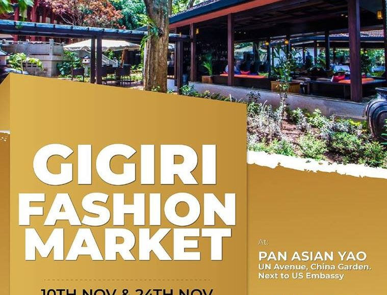Gigiri Fashion Market; November 10