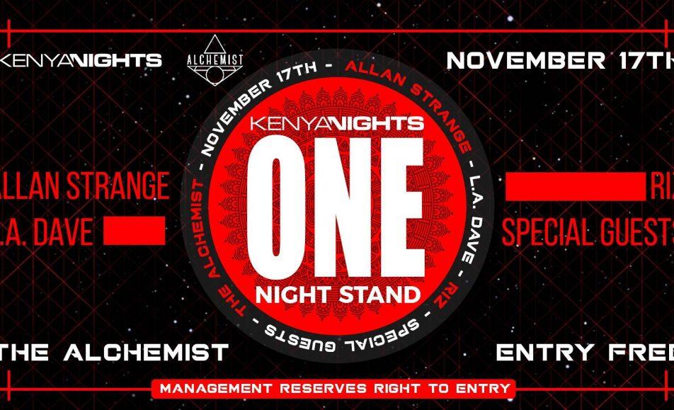 Kenya Nights One Night Stand; Nov 17