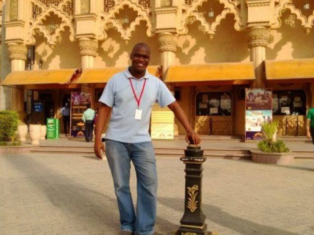 Robert Kunga in New Delhi, India. You need a visa to go to India :-)