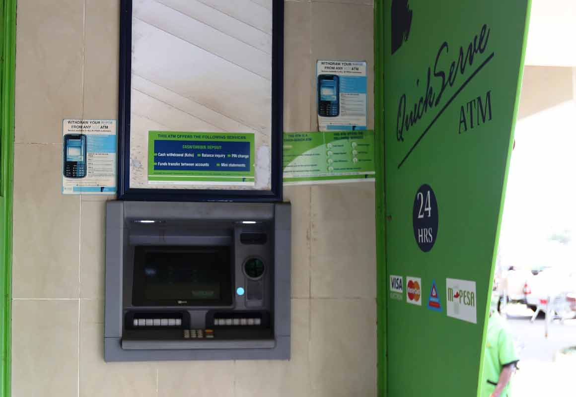 How to withdraw money from MPESA via an ATM - HapaKenya
