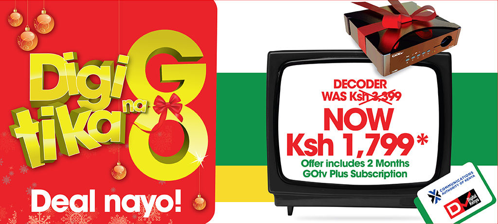 GOtv decoders are now Ksh  1,799 in preparation for digital