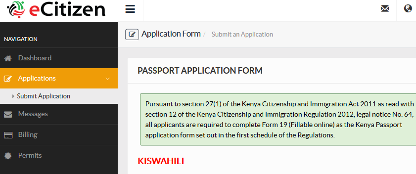 How to apply for a kenyan passport on ecitizen hapakenya how to apply for a kenyan passport on ecitizen thecheapjerseys Images