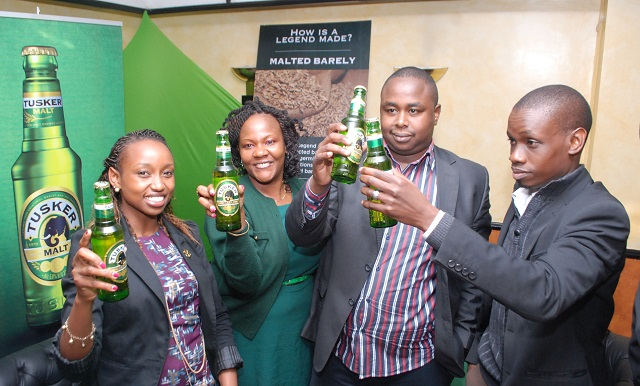 Guests at the Tusker Malt Launch