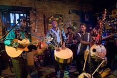 Kinobe and Soul Beat Africa performing at The Evening Muse May 2nd 2009