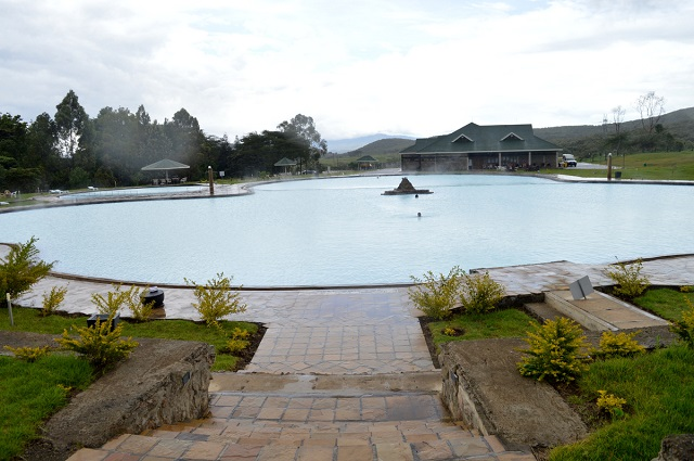 Ol Karia Geothermal Spa main pool