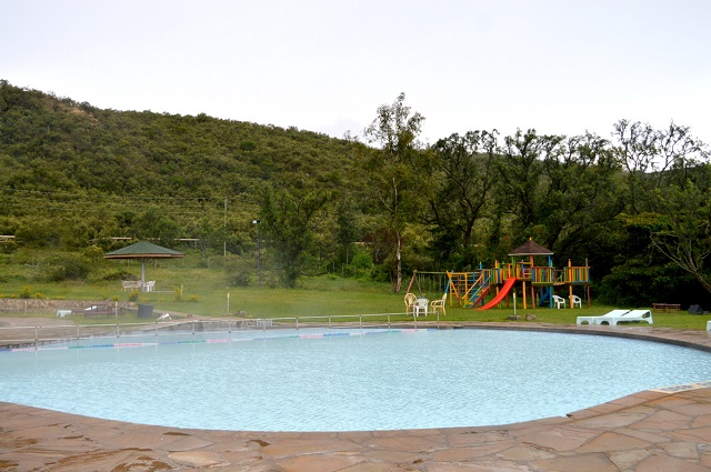 Ol Karia Geothermal Spa baby pool