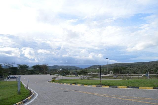 Ol Karia Geothermal Spa driveway