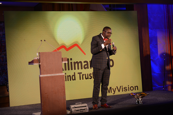 Kilimanjaro Blind Trust In A Funds Drive To Provide Braille Machines