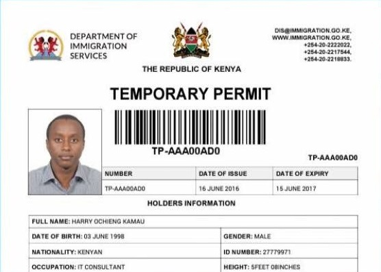 How to apply for a temporary Kenyan passport online - HapaKenya