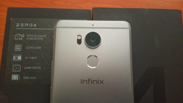 Infinix Zero 4 Camera