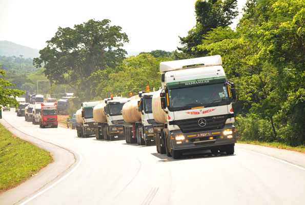 Regional Electronic Cargo Tracking System To Improve Cross