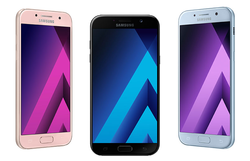 Samsung Launches The Galaxy A 2017 Series Smartphones In Kenya