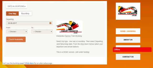 Relief How To Book Your Sgr Seat Ticket Online