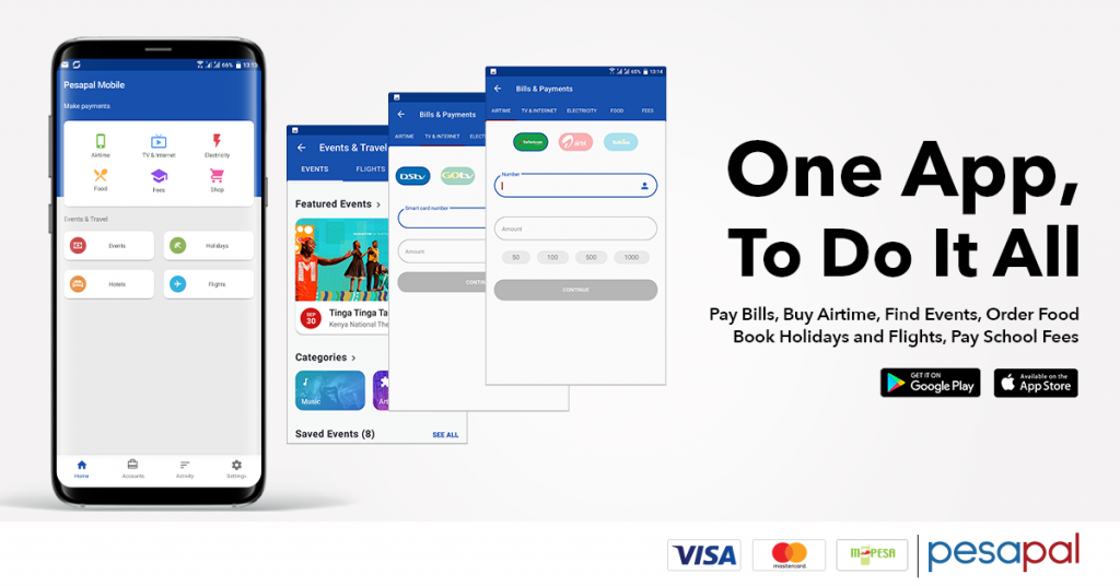 Pesapal launches app that aggregates payments for different