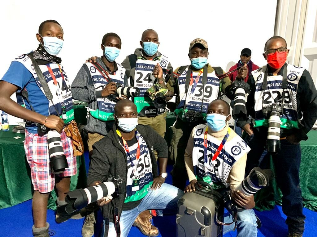 Canon had arrange skilled providers on the WRC Safari Rally to assist photojournalists – HapaKenya